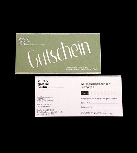 studio galerie berlin
